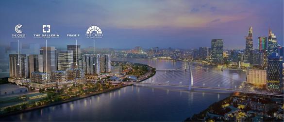The Metropole Thủ Thiêm - dự án thuộc chiến lược Dấu ấn SonKim Land. Ảnh phối cảnh: SonKim Land.