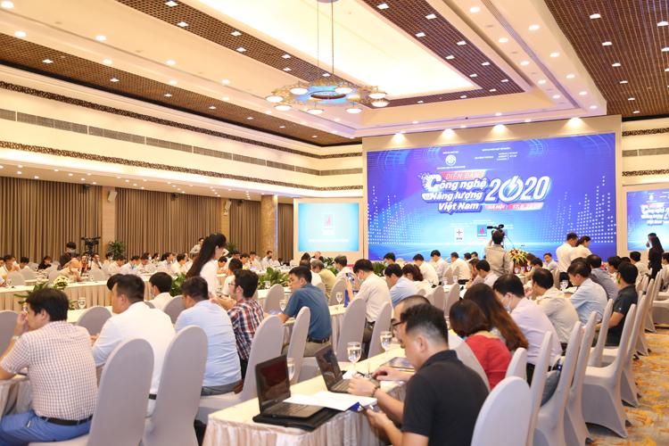 Toàn cảnh diễn đàn Công nghệ và Năng lượng Việt Nam.