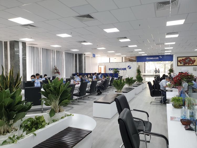 Eximbank chi nhánh Sài Gòn.