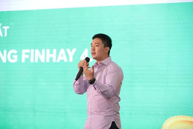 Ông Nghiêm Xuân Huy - CEO Finhay chia sẻ về phiên bản ứng dụng mới