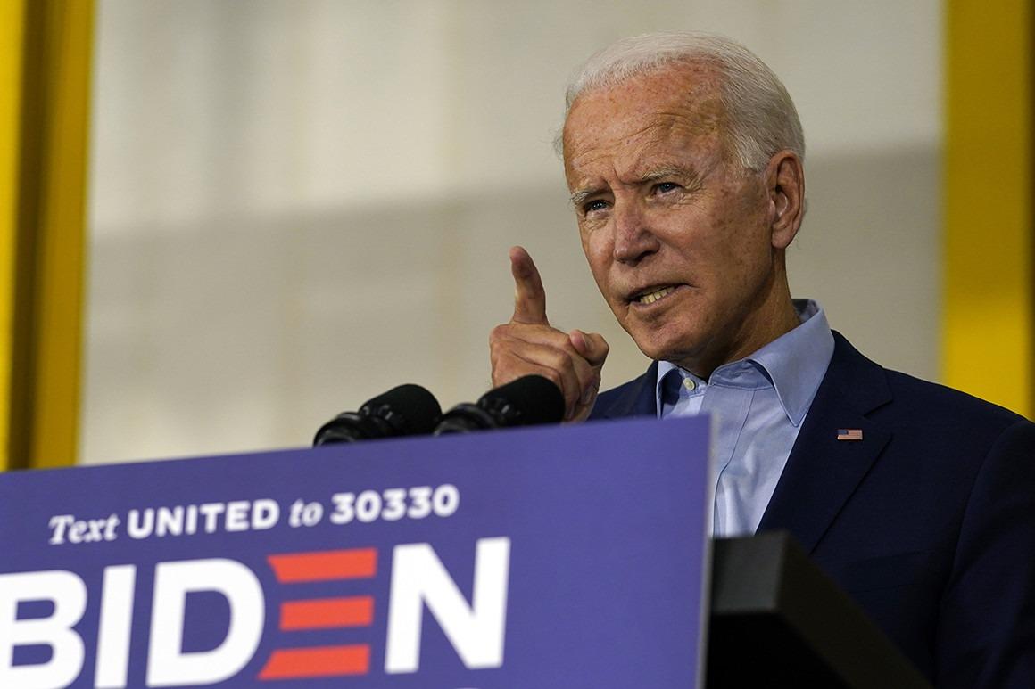Ông Joe Biden trong một sự kiện vận động tranh cử. Ảnh: AP