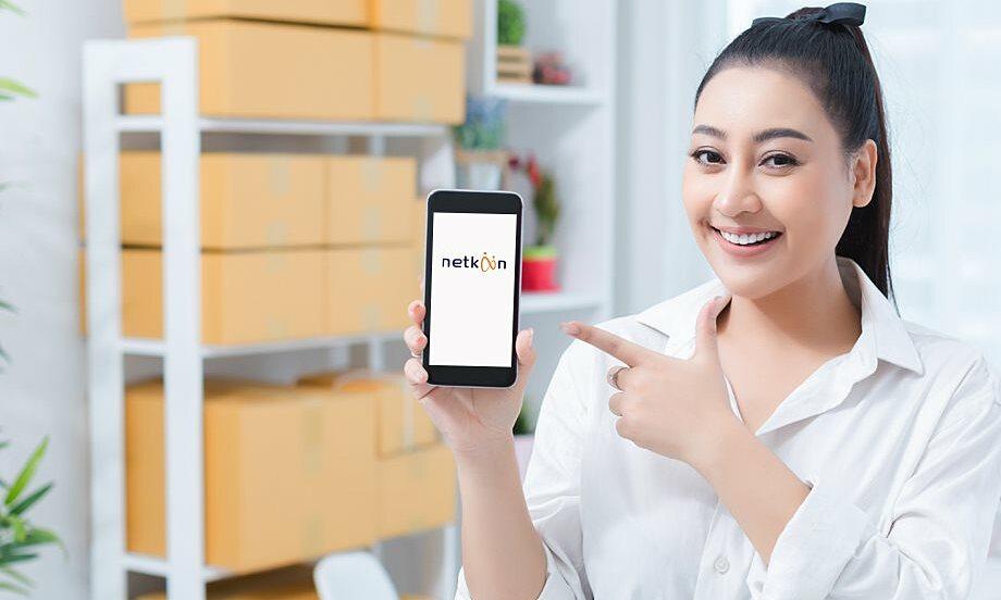 Netkiin tạo nền tảng bán hàng trực tuyến thuận tiện, tối ưu chi phí dành cho nữ giới. Ảnh: Netkiin.