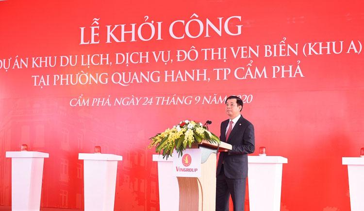 ông Nguyễn Việt Quang - Phó Chủ tịch Hội đồng quản trị kiêm Tổng giám đốc Tập đoàn Vingroup