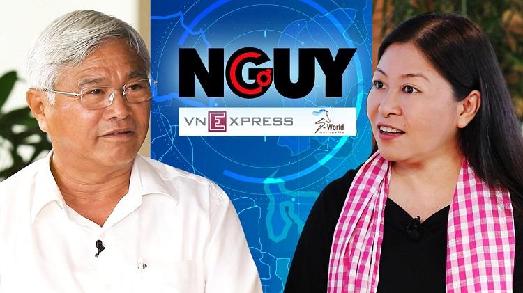 Talkshow Nguy - Cơ số 3 có sự tham gia của doanh nhân Võ Quan Huy.