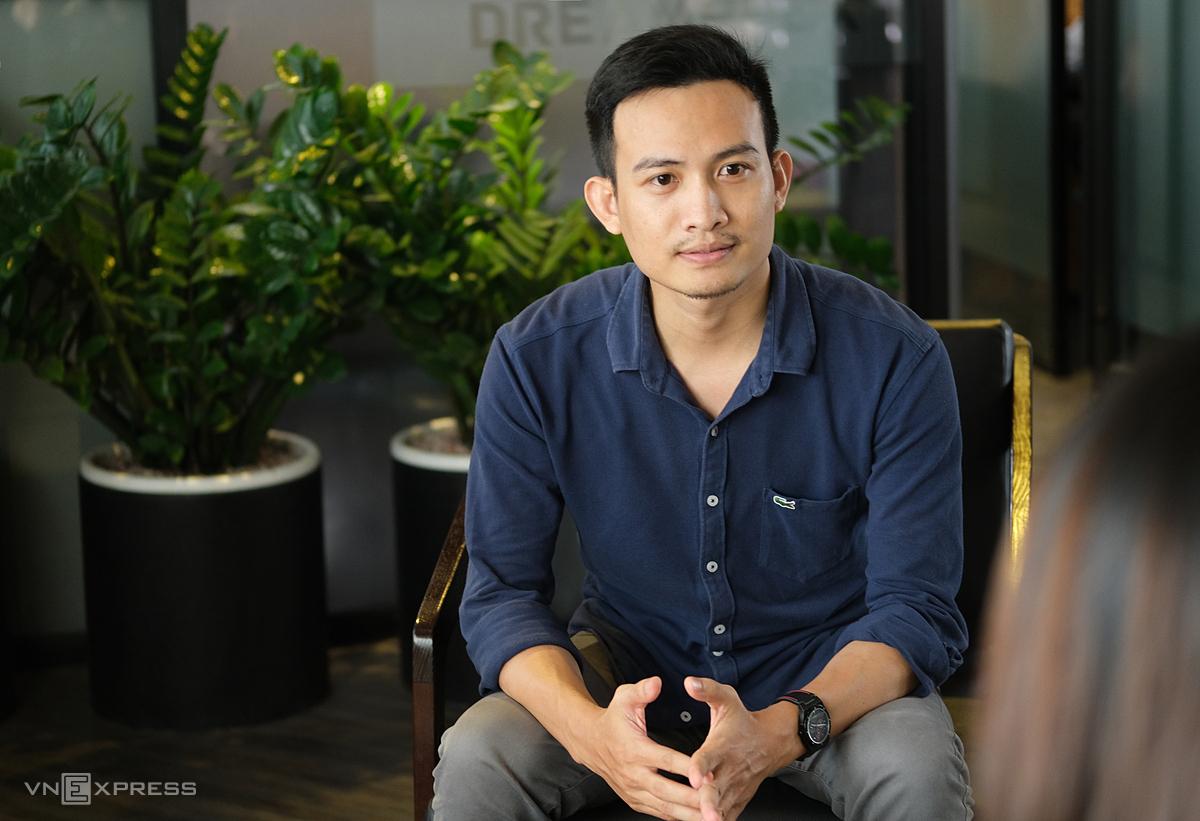 Nguyễn Văn Toản - người sáng lập ra Recruitery. Ảnh: NVCC