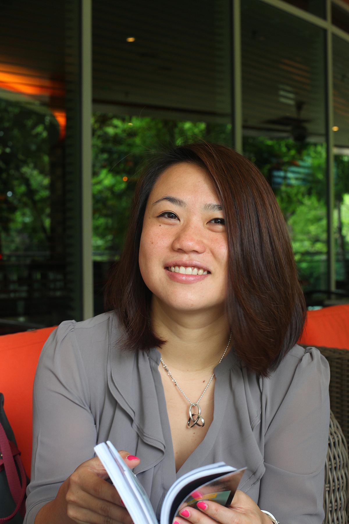 Bà Cheryl Goh, Phó chủ tịch phụ trách Marketing của Grab. Ảnh: Grab.