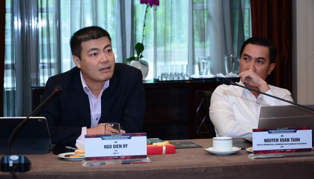 Ông Ngô Diên Hy chia sẻ tại hội thảo. Ảnh: IEC Group.