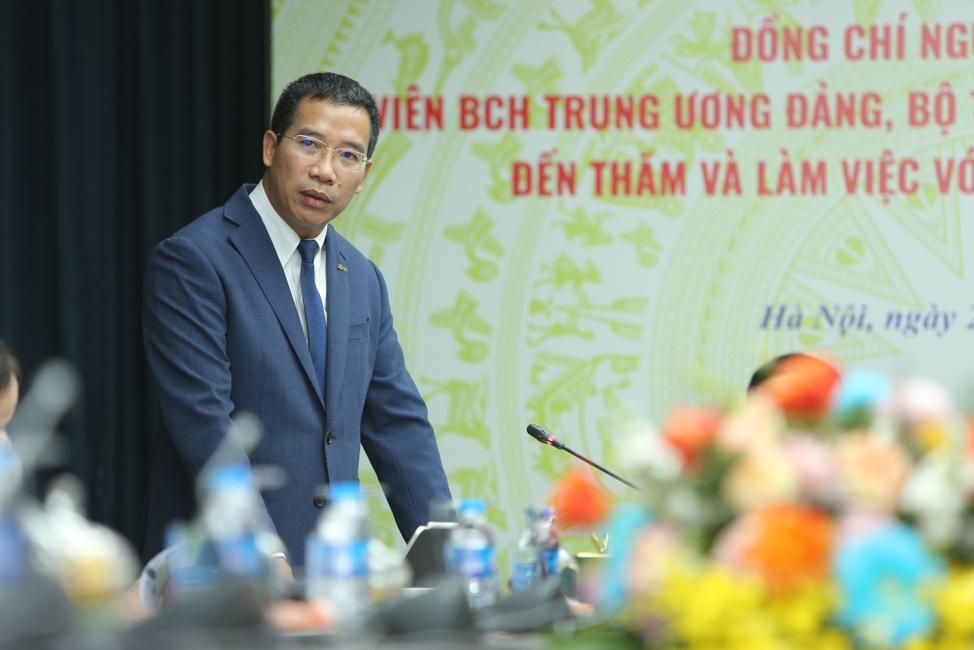 Ông Lưu Trung Thái, Tổng giám đốc MB. Ảnh: MB.