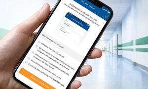 Ngân hàng đầu tiên cung cấp bảo hiểm qua ứng dụng
