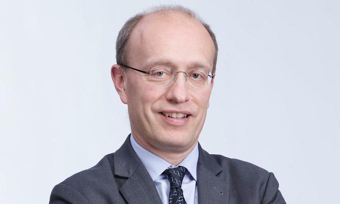 Tổng giám đốc Techcombank Jens Lottner.