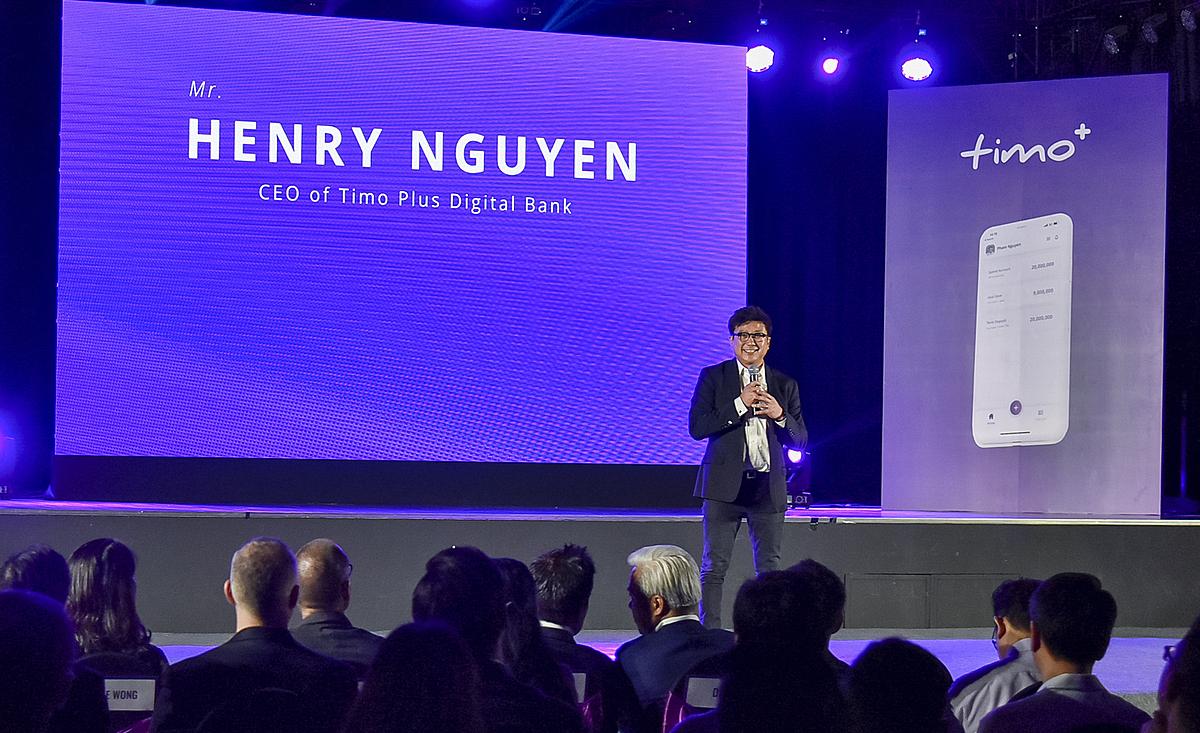 Ông Nguyễn Bảo Hoàng (Henry Nguyễn) Tổng giám đốc Timo Plus. Ảnh: VietCapitalBank.