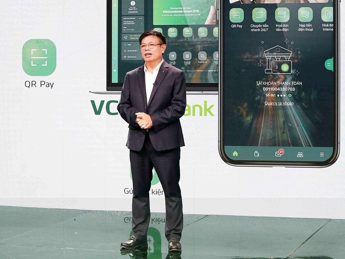 Ông Đào Minh Tuấn - Phó tổng giám đốc Vietcombank. Ảnh: Vietcombank.