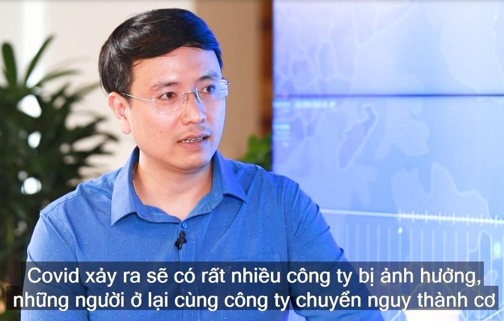 Tiến sĩ Cao Anh Tuấn - khách mời của Talkshow Nguy - Cơ số thứ 4.