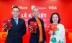 VPBank và Visa hợp tác với Shopee ra mắt thẻ tín dụng