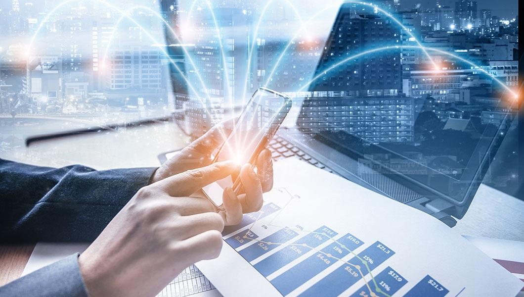 Nhiều doanh nghiệp hàng đầu trong và ngoài nước đã nhanh chóng chuyển đổi sang mô hình doanh nghiệp số (Ảnh: The Digital Enterprise)