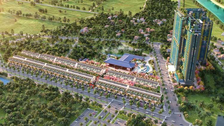 Liền kề Wyndham Lynn Times Thanh Thủy có vị trí đắc địa với lợi thế kết nối mạnh mẽ.