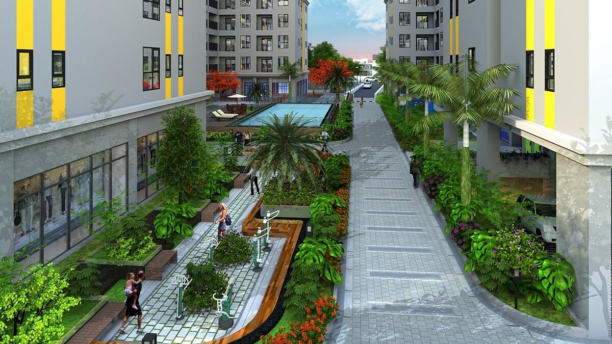 Bcons Plaza tạo không gian sống chất lượng cho cộng đồng trí thức. Thông tin dự án Bcons, liên hệ Công ty TNHH Địa ốc Gia Phúc.  Hotline: 0909296565.