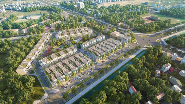 phối cảnh dự án Hưng Lộc Homes.