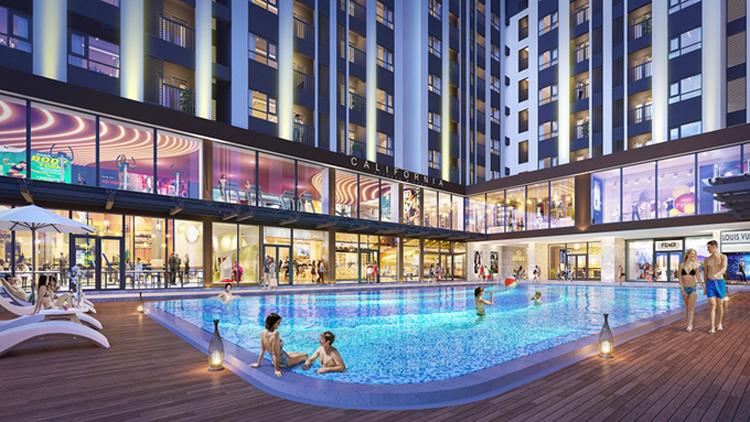 Những tiện ích đẳng cấp giúp cư dân trải nghiệm phong cách sống New Lifestyle ngay tại khuôn viên dự án.