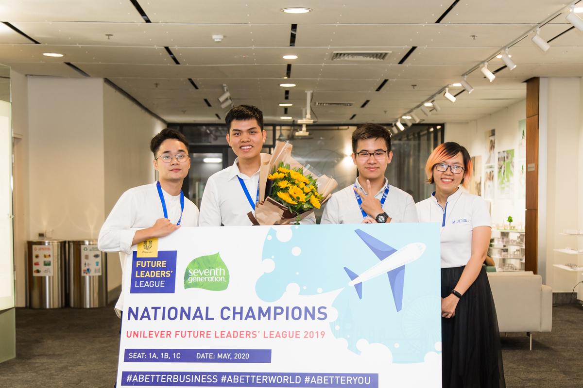 Cuộc thi Thách thức kinh doanh Unilever tạo cơ hội cho giới trẻ thể hiện năng lực. Ảnh: Unilever,.