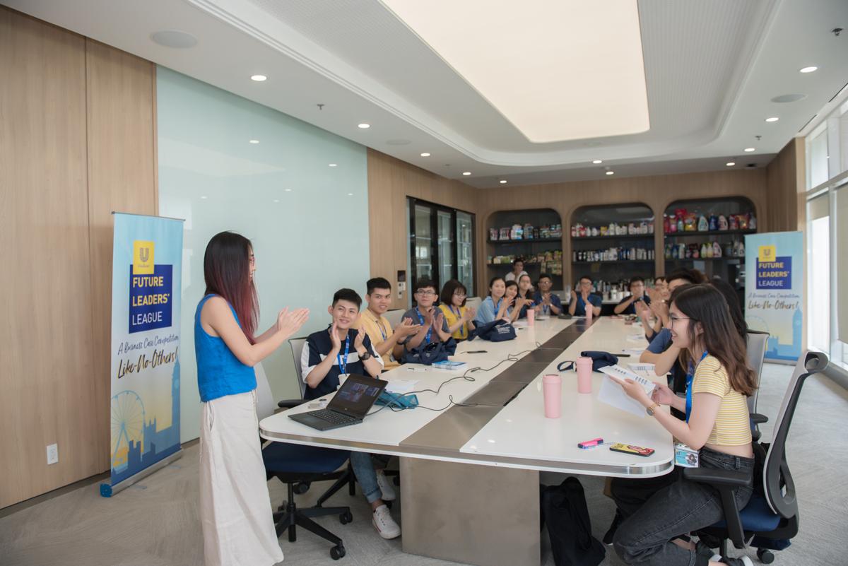 Cuộc thi triển khai nhiều hoạt động giúp sinh viên trải nghiệm thực tế tại doanh nghiệp và tích lũy kinh nghiệm. Ảnh: Unilever.