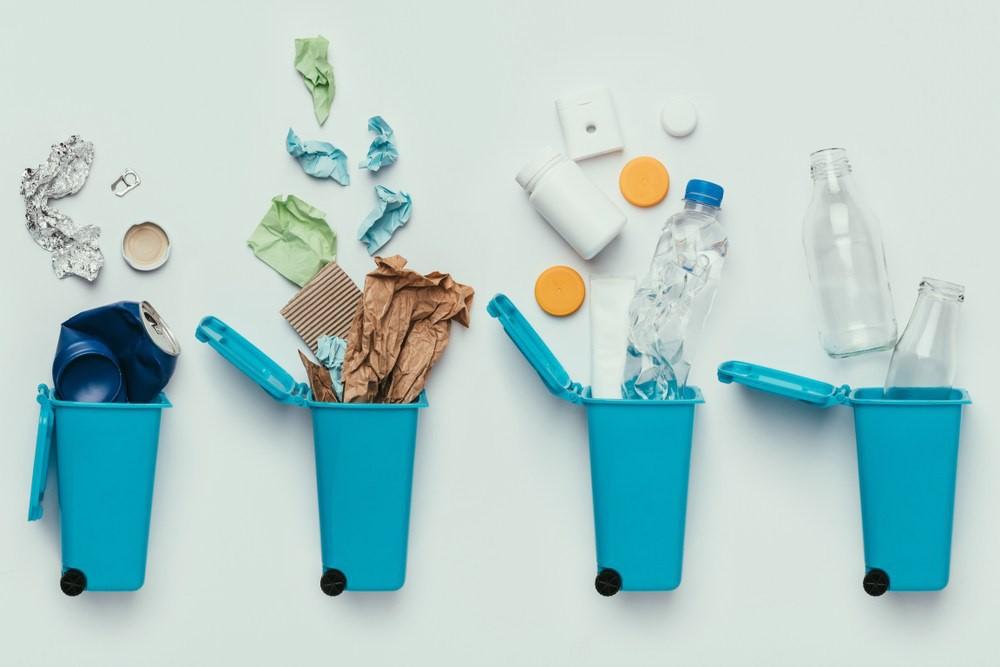 Thu gom, phân loại rác tại nguồn và tái chế là một trong những giải pháp thúc đẩy kinh tế tuần hoàn, hướng đến phát triển bền vững. Ảnh: NS BlueScope.