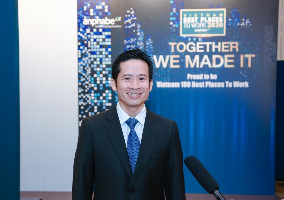 Ông Nguyễn Hoài Nam phát biểu tại buổi trao giải.