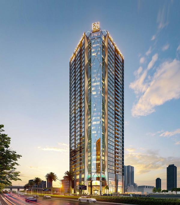 Phối cảnh tổng thể dự án căn hộ hạng sang The Summit 216.