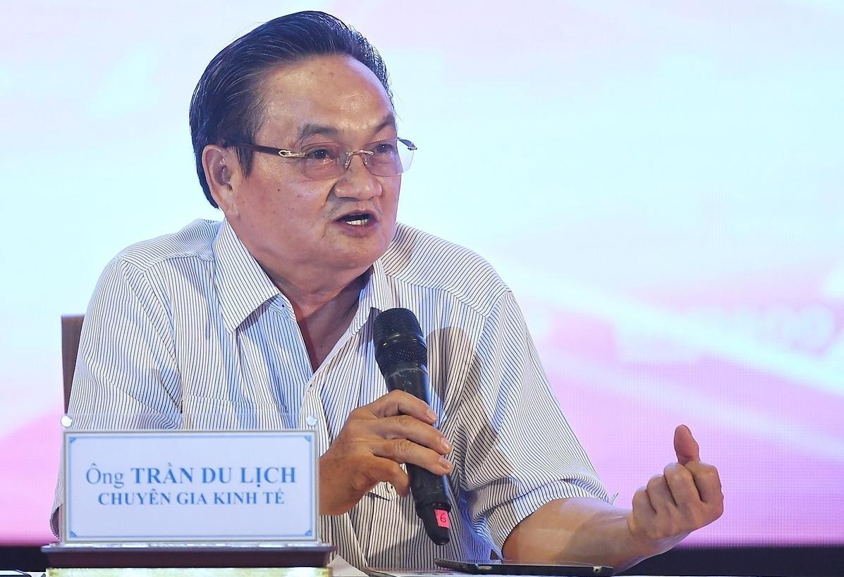 TS Trần Du Lịch tại một sự kiện tháng 6/2020. Ảnh: Giang Huy.