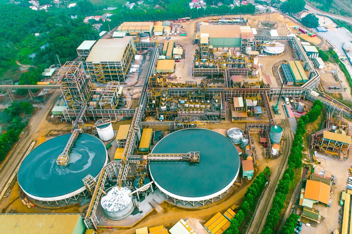 Masan High-Tech Materials factory in Vietnam.  Photo: MSR.