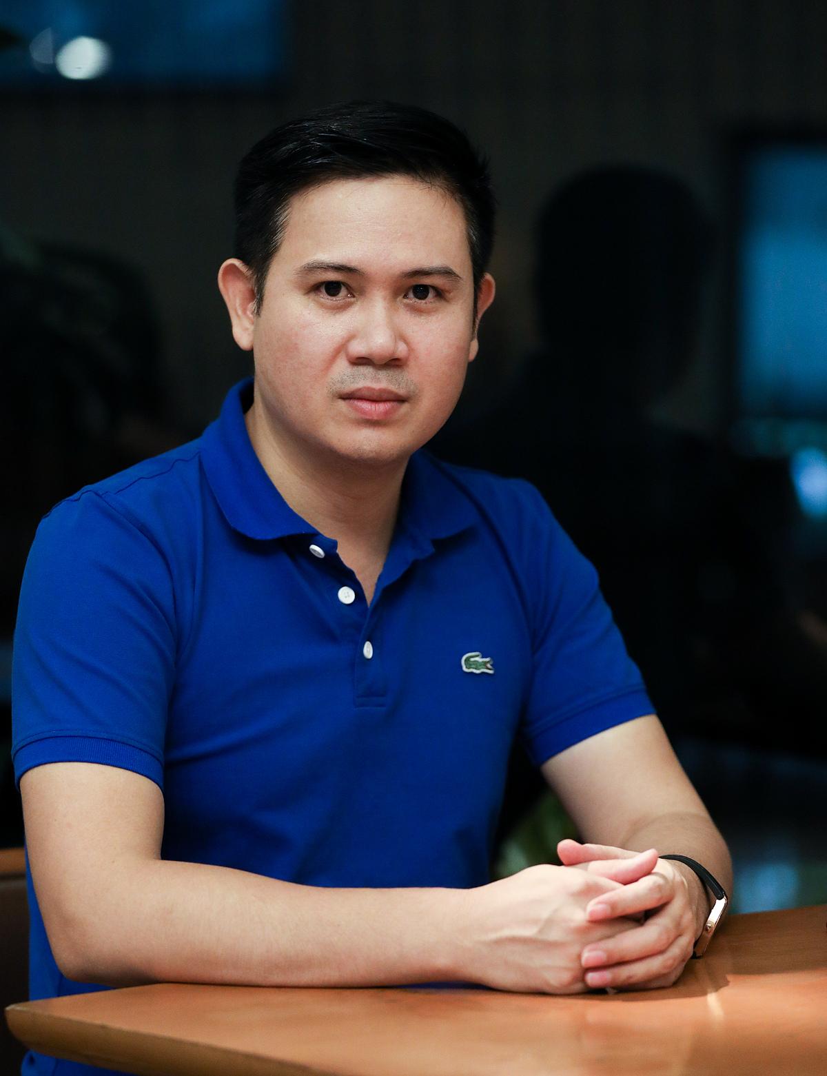 Ông Phạm Văn Tam - Chủ tịch Winsan. Ảnh: Quỳnh Trần.