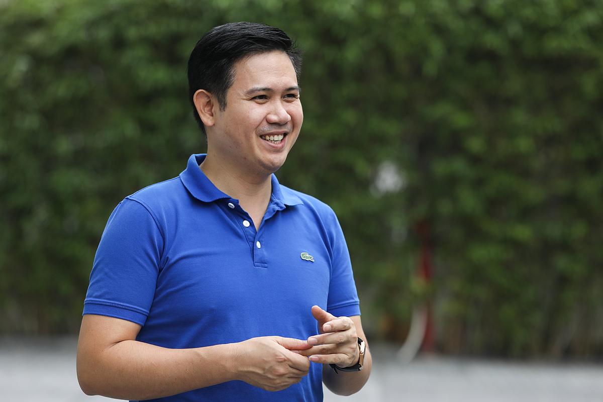 Ông Phạm Văn Tam đánh giá cao phân khúc bất động sản công nghiệp, sẽ có nhiều tiềm năng phát triển trong thời gian tới. Ảnh: Quỳnh Trần.