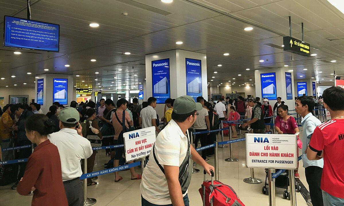 Hành khách tại sân bay dễ tiếp cận và ghi nhớ thông điệp từ thương hiệu do nhiều yếu tố tâm lý. Ảnh: Goldsun Media.