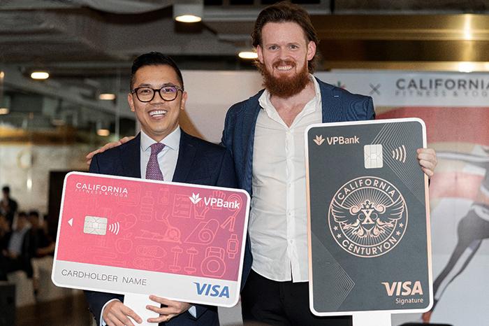 Tập đoàn California Fitness hợp tác với VP Bank ra mắt thẻ tín dụng.