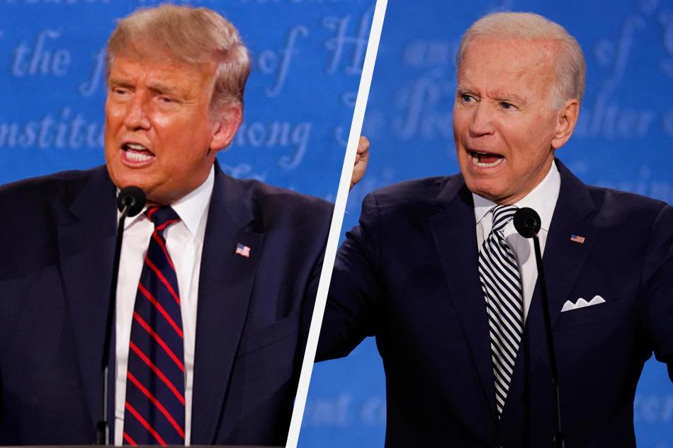 Tổng thống Mỹ Donald TRump và ứng cử viên đảng Dân chủ Joe Biden. Ảnh: Reuters