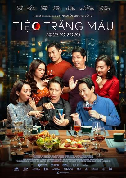 Tiệc Trăng Máu đang là bộ phim ăn khách tại các rạp chiếu.