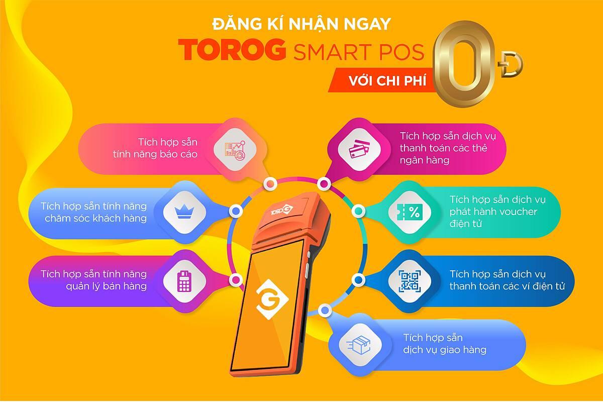 Giải pháp thanh toán ToroG tích hợp hệ thống tiện ích tất cả trong một.