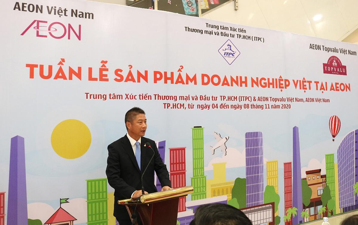Ông Nishitohge Yasuo - Tổng giám đốc AEON Việt Nam. Ảnh: AEON Việt Nam.