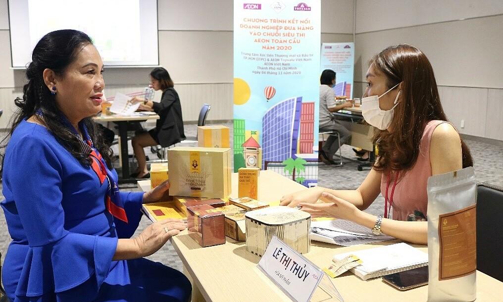 Hơn 150 doanh nghiệp Việt đã có cơ hội kết nối với đại diện AEON, mở ra cơ hội hợp tác và hỗ trợ xuất khẩu sang hệ thống AEON toàn cầu