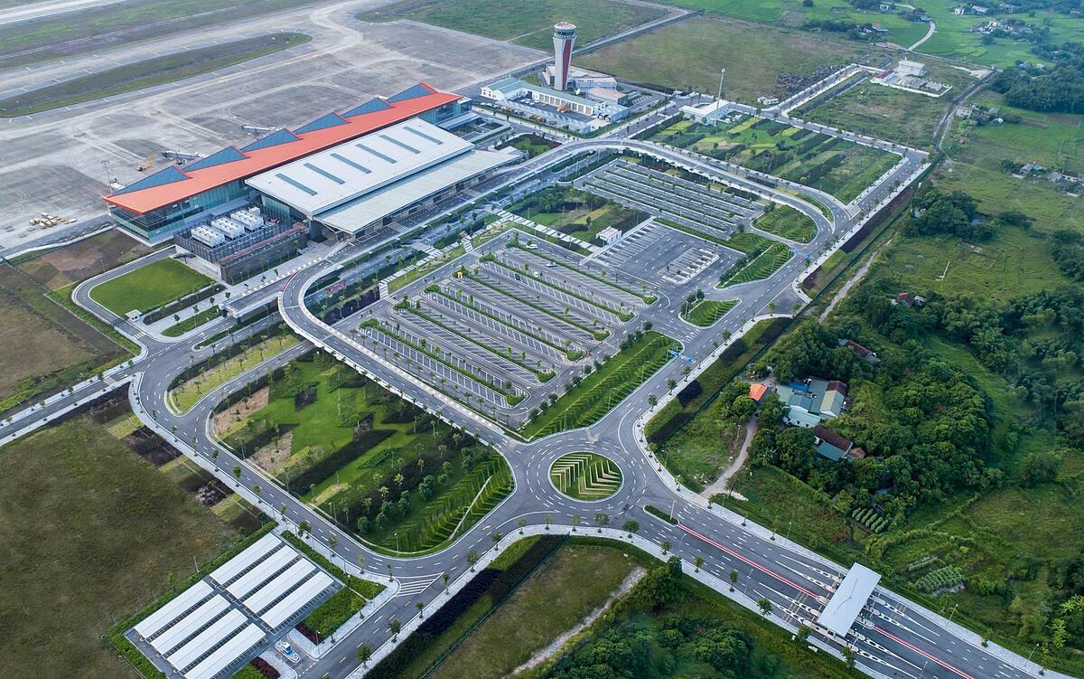 Cảng hàng không quốc tế Vân Đồn giành hai giải thưởng quốc tế WTA. Ảnh: Sun Group.