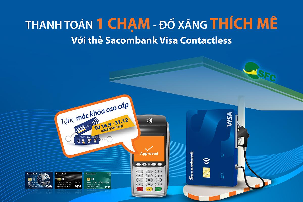 Thanh Di Để biết thêm thông tin chi tiết, khách hàng vui lòng liên hệ Hotline 1900 5555 88 hoặc 028 3526 6060; truy cập website khuyenmai.sacombank.com và đăng ký thẻ online tại website card.sacombank.com.vn/card/DebitCardForm.aspx