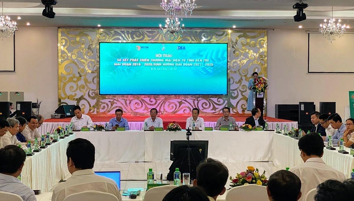 Hội thảo phát triển thương mại điện tử tỉnh Bến Tre.
