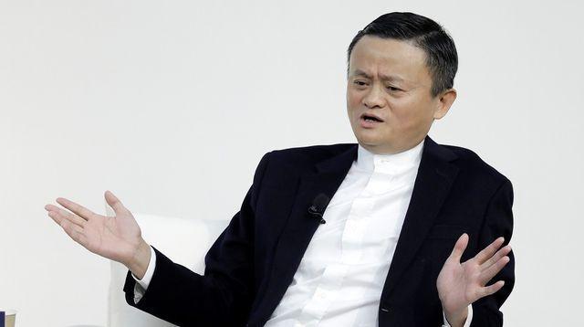 Nhà sáng lập Alibaba Jack Ma. Ảnh:Bloomberg