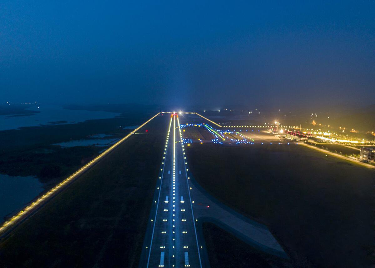 Sân bay Vân Đồn sở hữu trang thiết bị hiện đại bậc nhất Việt Nam. Ảnh: Sun Group.