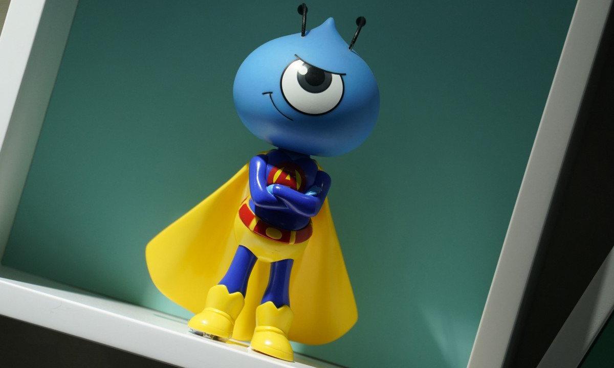 Linh vật biểu tượng của Ant Group. Ảnh: AP