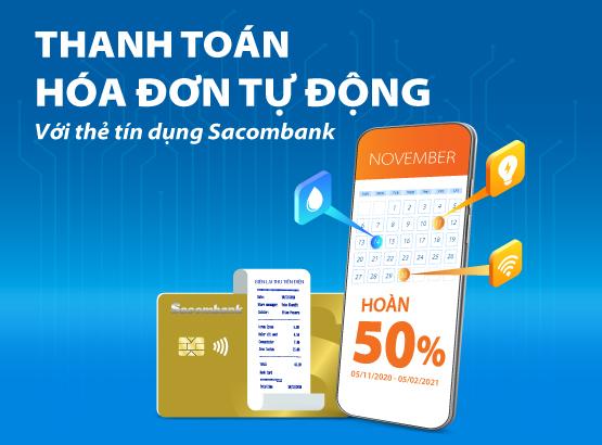 Để biết thêm thông tin chi tiết, khách hàng vui lòng liên hệ Hotline 1900 5555 88 hoặc 028 3526 6060; truy cập website khuyenmai.sacombank.com và đăng ký thẻ online tại website dangkythe.sacombank.com.