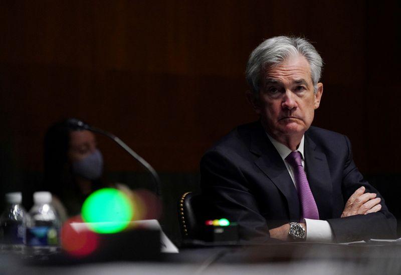 Chủ tịch Fed Jerome Powell trong một cuộc họp tháng 9. Ảnh: Reuters