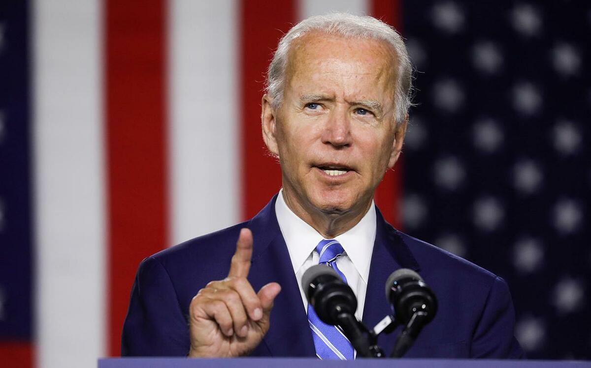 Ứng cử viên đảng Dân chủ Joe Biden. Ảnh: Reuters