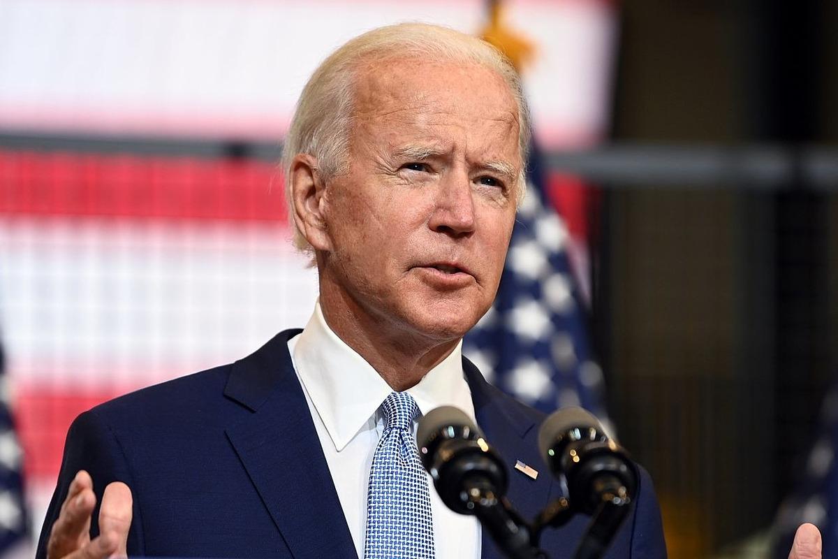 Ông Joe Biden trong một cuộc vận động tranh cử ở Pittsburgh ngày 31/8. Ảnh: Reuters.