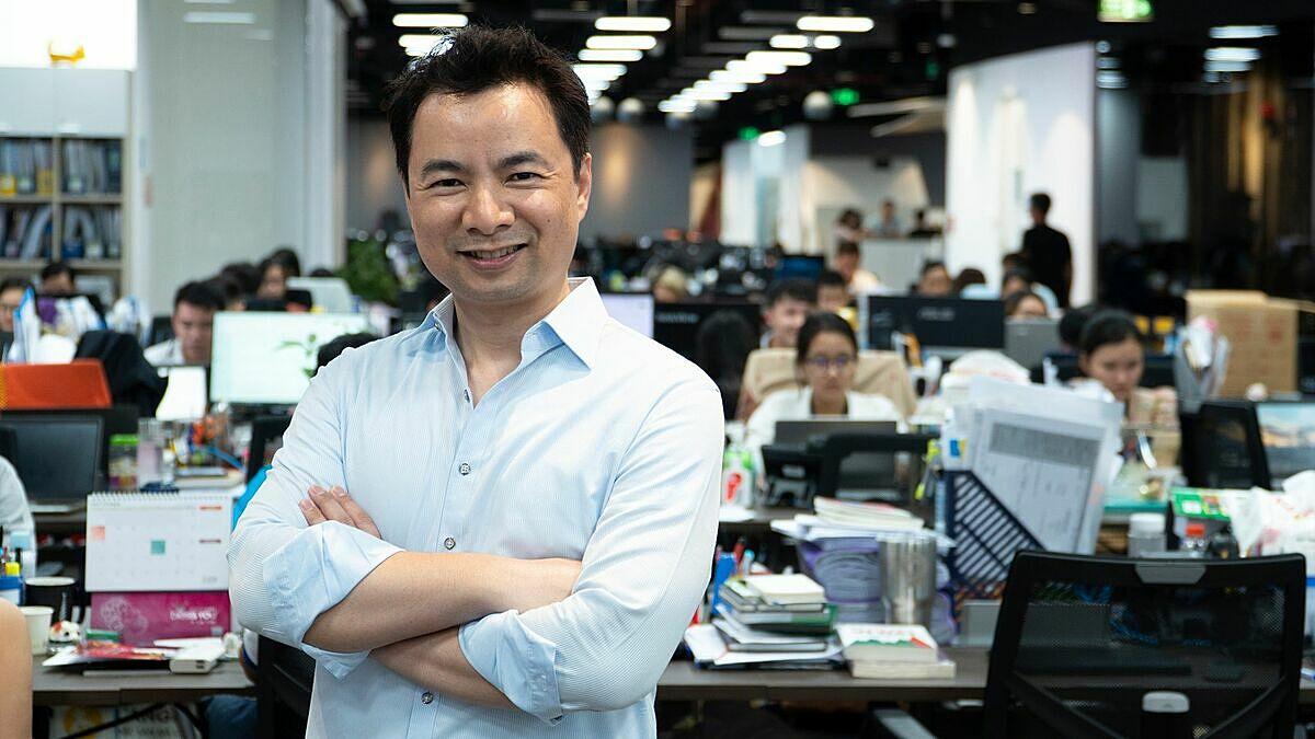 Ông Richard Triều Phạm - Phó tổng giám đốc tài chính Tiki, là một trong bốn thành viên hội đồng chung khảo của Startup Việt 2020. Ảnh: Tiki.